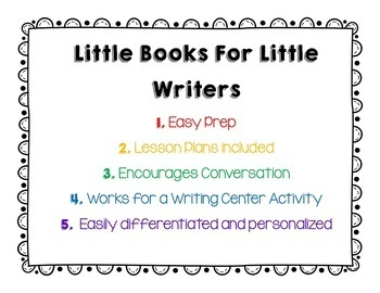 Writing For Primary Students- Bundle One