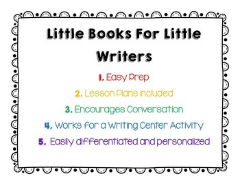 School Theme {Little Books for Little Writers}