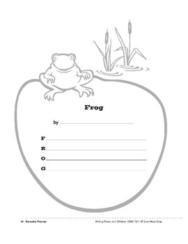 Writing Forms: Acrostic Poems