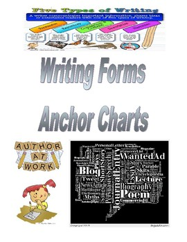 Writing Forms Anchor Charts