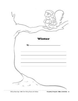 Writing Forms: Cricket, Fireflies, Winter, Bat