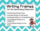 Writing Frames BUNDLE