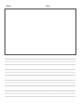 Blank Writing Frames and Templates