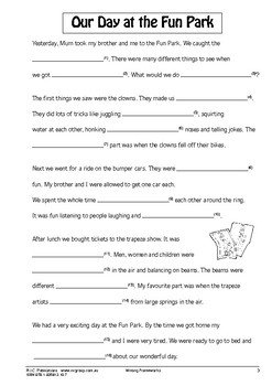 Writing Frameworks – Ages 5-7