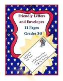 Writing Friendly Letters and Envelopes