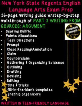 Writing From Sources Argument Guide Common Core English Regents - NY Test Prep