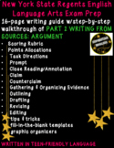 Writing From Sources Argument Guide CC English Regents Part 2 NY Test Prep