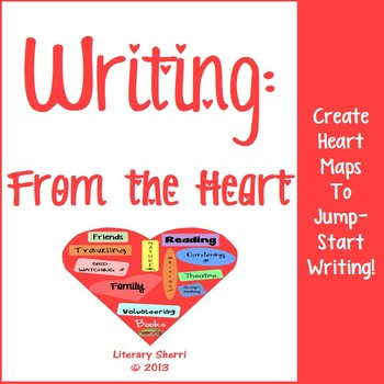 Writing: Write From the Heart Activity (Grades 5, 6, 7)