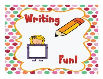 Writing Fun!
