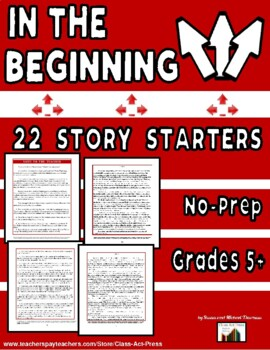 Writing Fun: In the Beginning . . . (20 Story Starters, $12)