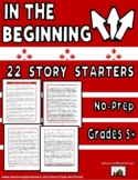 Twenty Story Starters: In the Beginning . . .