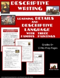 Descriptive Writing: Details and Descriptive Language | Di