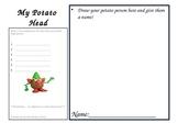 Writing Fun with Mr.  Potato Head