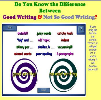 Writing Games for the SmartBoard
