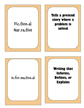 Writing Cards