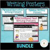 Writing Genre Poster Bundle