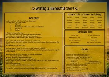 Writing Genres Mats and Checklists BUNDLE