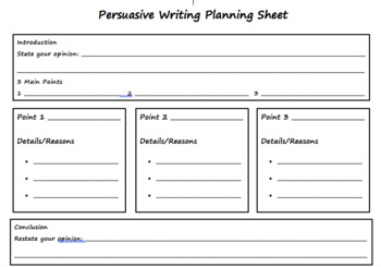 Writing Genres Planning Guides
