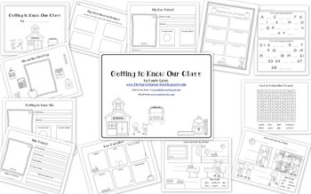 Writing: Getting to Know Our Class