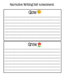 Writing Glow and Grow