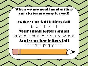 Writing Goal Activities