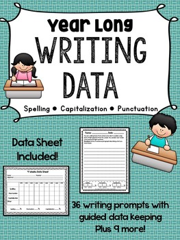 Writing Goal Data Tracking (Spelling, Capitalization, Punctuation)