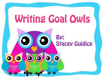 Writing Goal Owl Theme
