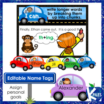 """Writing Goal Posters and Brag Tags with """"I can"""" statements"""