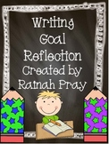 Writing Goal Reflections