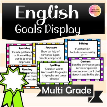 Writing Goal Tabs