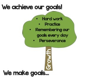 FREEBIE:  Writing Goals