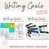 Writing Goals {Bundle}