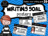 Writing Goals Blurb – Posters