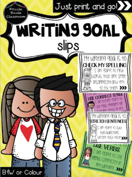 Writing Goals Blurb – Slips