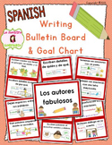 Writing Goals Bulletin Board / Clip Chart (Spanish)
