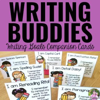 Writing Goals - Writing Buddies