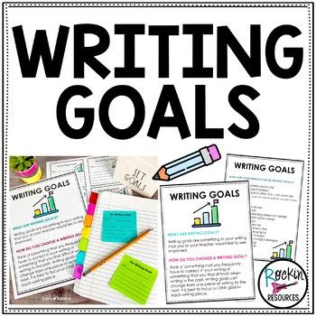 Writing Goals- Free