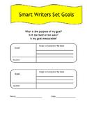 Writing Goals - Graphic Organizer