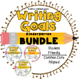Writing Goals Kindergarten Narrative Opinion Information