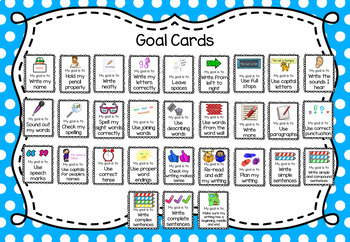 Writing Goals - Lower Grades