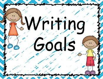 Writing Goals Piece