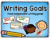 Writing Goals Posters!