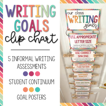 Writing Goals Clip Chart PLUS!