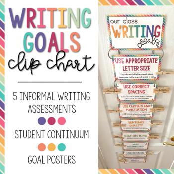 Writing Goals Clip Chart PLUS!