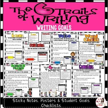 Writing Goals: Six Traits of Writing