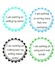 Writing Goals Tags