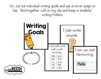 Writing Goals Tracker