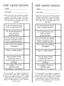 Writing Goals and Worksheets to get you through the Writing Process!
