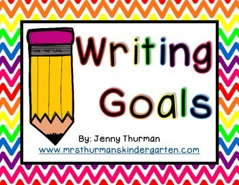 Writing Goals for Beginning Writers