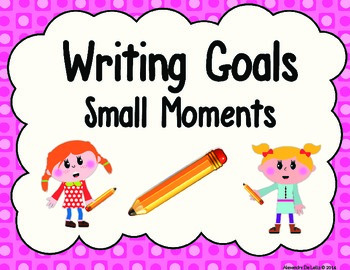Writing Goals with Common Core State Standards